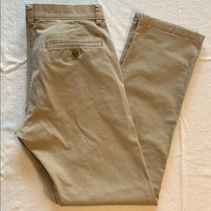 HAGGAR 29/30 Men's Straight Leg Stretch Pants